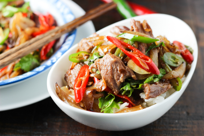 Beef and Onion Stir-fry-10