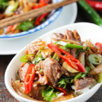 Beef with Onion Stir-fry