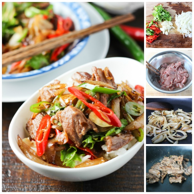 How to make Beef and Onion Stir-fry