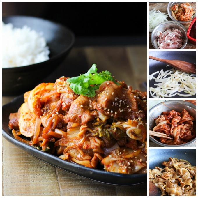 How to make Pork Belly and Kimchi