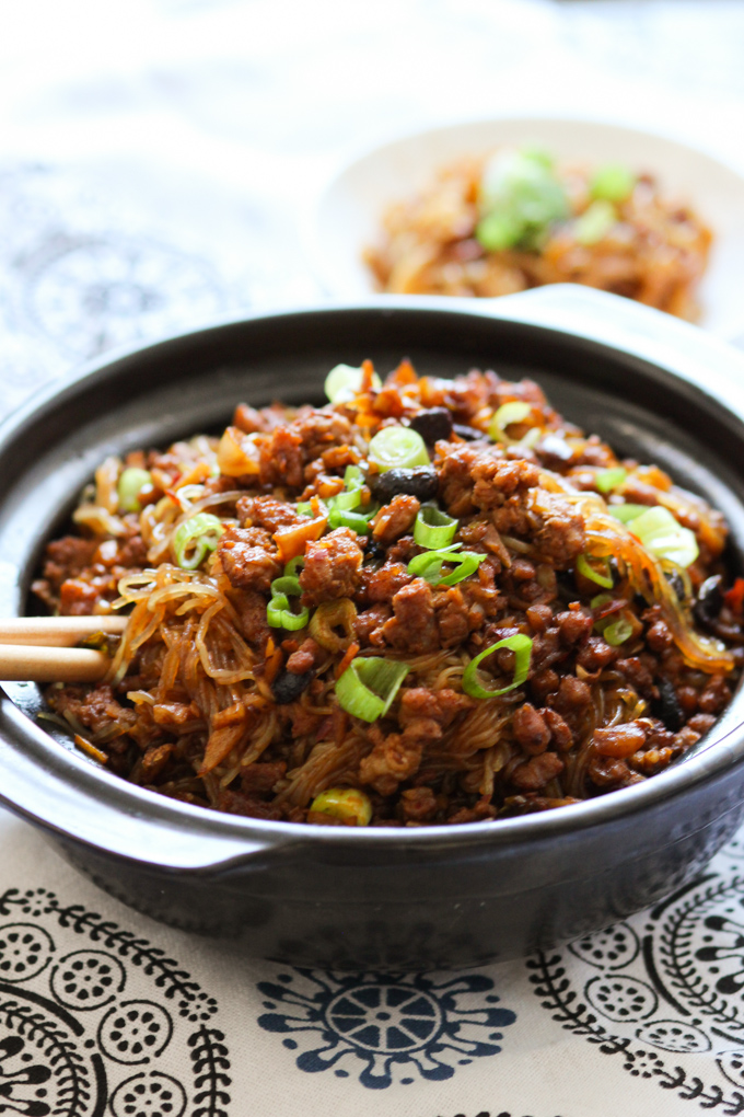 Ground Chicken Rice Bowl