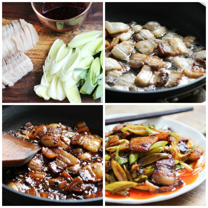 How to make double cooked pork belly