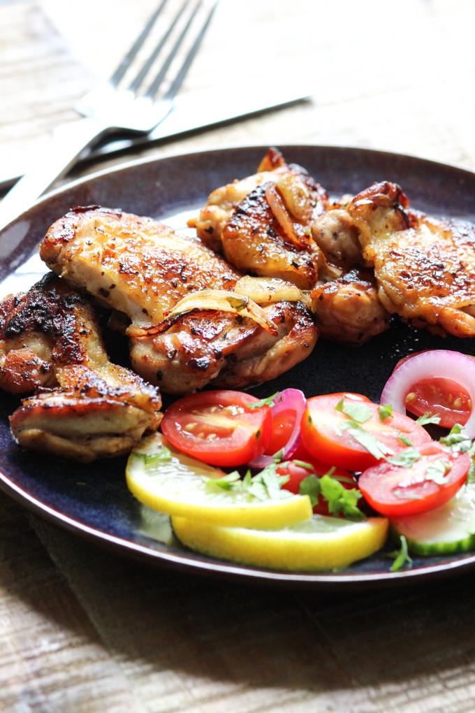 Lemon Pan-fried Chicken Image