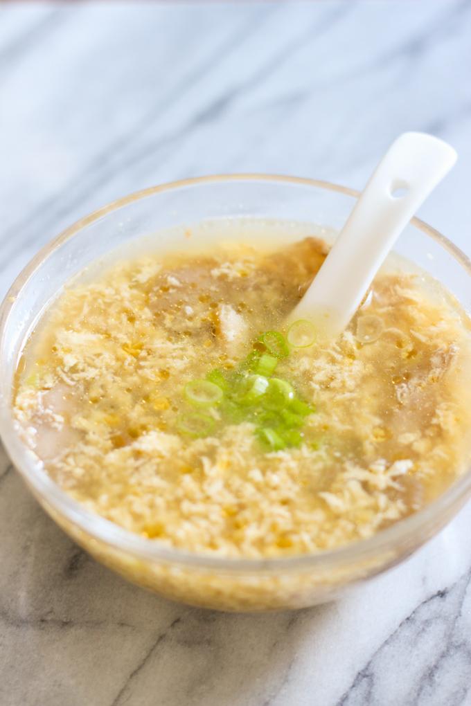 egg drop soup picture