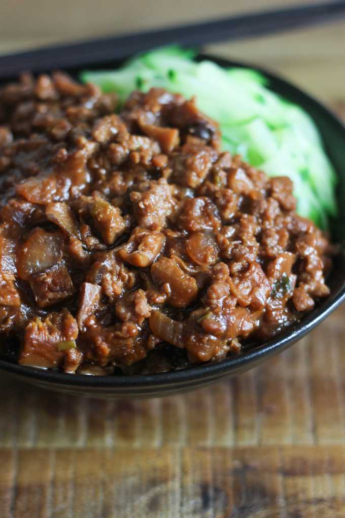 Home Style Meat Sauce Noodle