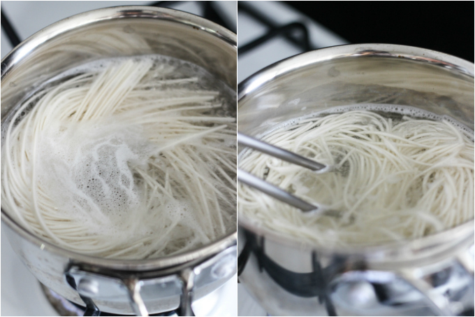 dan dan noodle step two