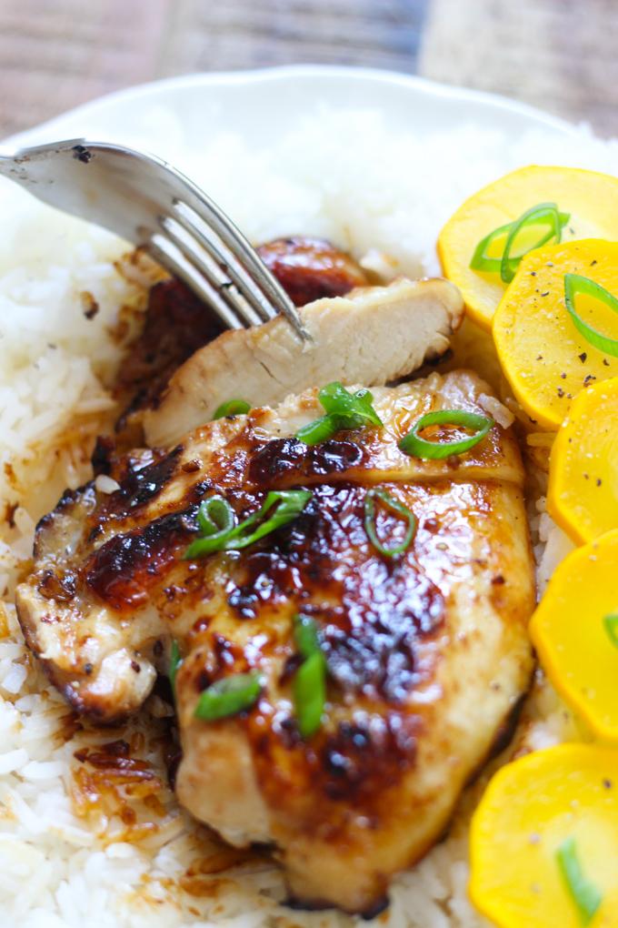 honey-garlic-chicken