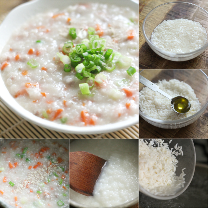 how to make beef and carrot congee