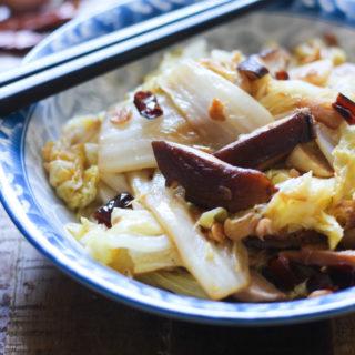 Nappa Cabbage and Mushroom