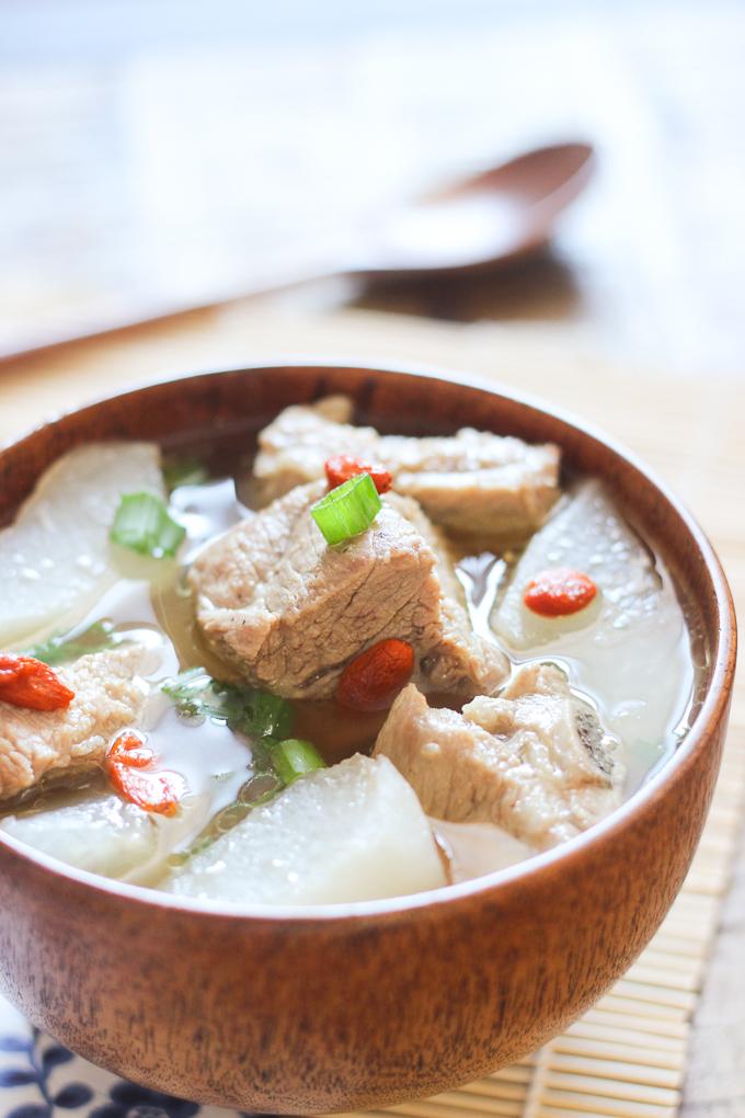 The Food Recipe Pork Rib Soup