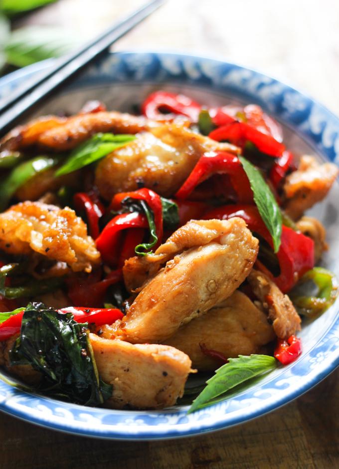 Thai Basil Chicken Spice The Plate