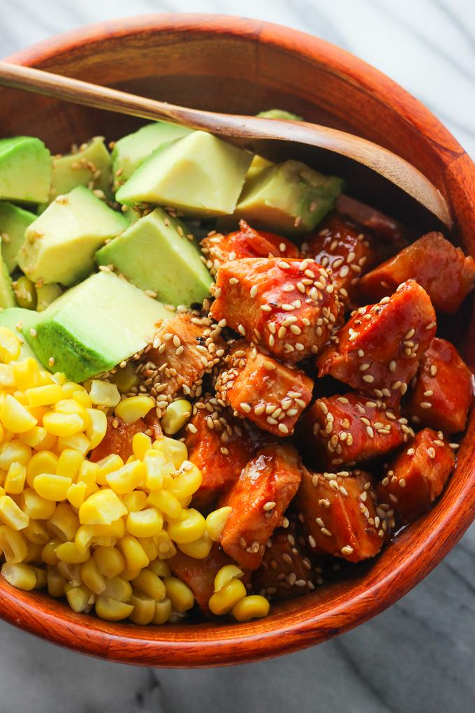 Sriracha Chicken and Avocado Bowl Picture