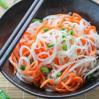Carrot and Daikon Salad