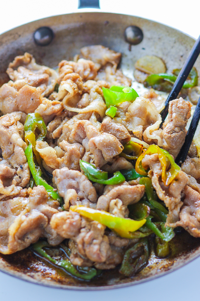 Green Pepper and Sliced Pork-5