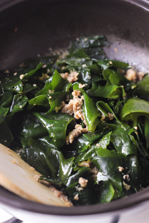 Korean Seaweed Soup
