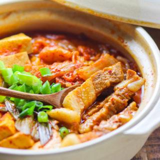 Pork Belly Kimchi Stew
