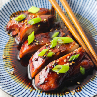 Teriyaki Chicken as Appetizer