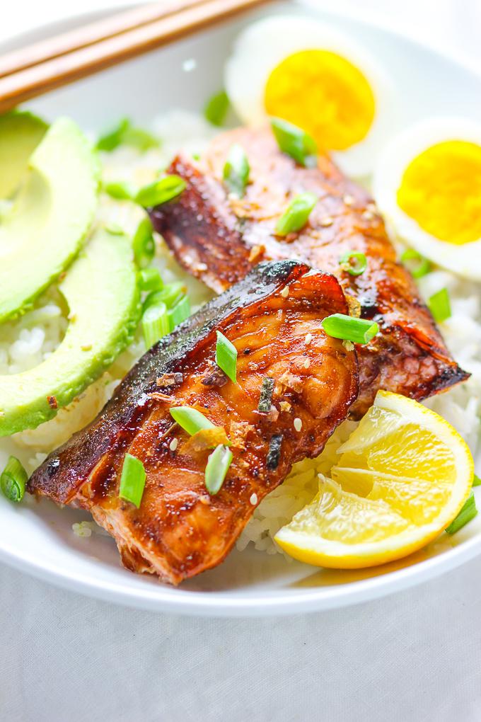 15 Minute Easy Teriyaki Salmon Spice The Plate