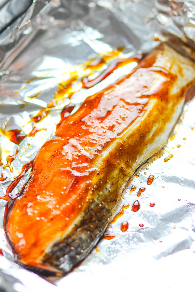 Easy Teriyaki Salmon