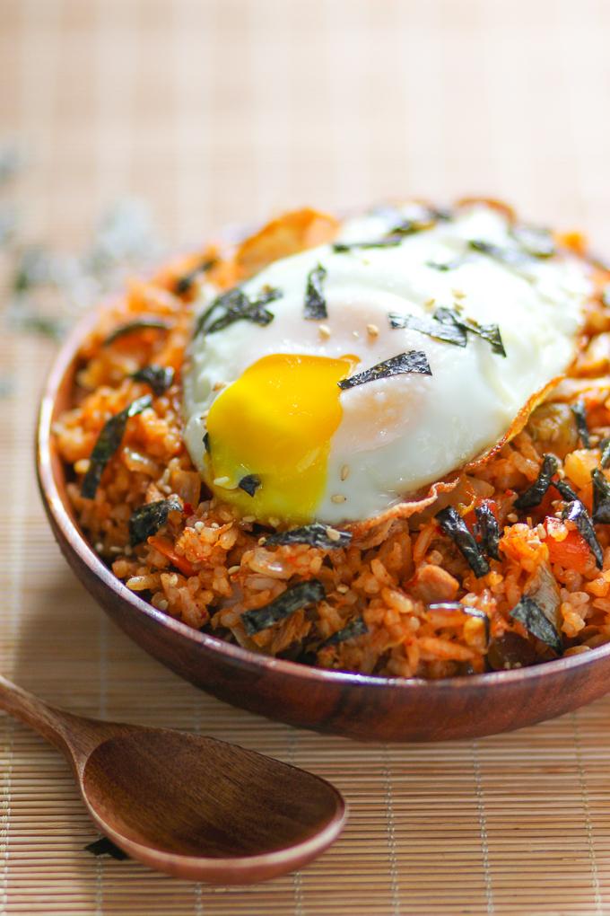 Tuna Kimchi Fried Rice
