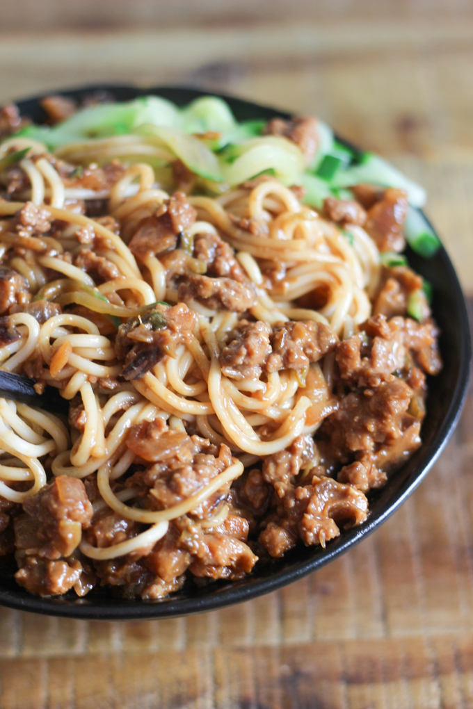 Chinese Meat Sauce Noodle