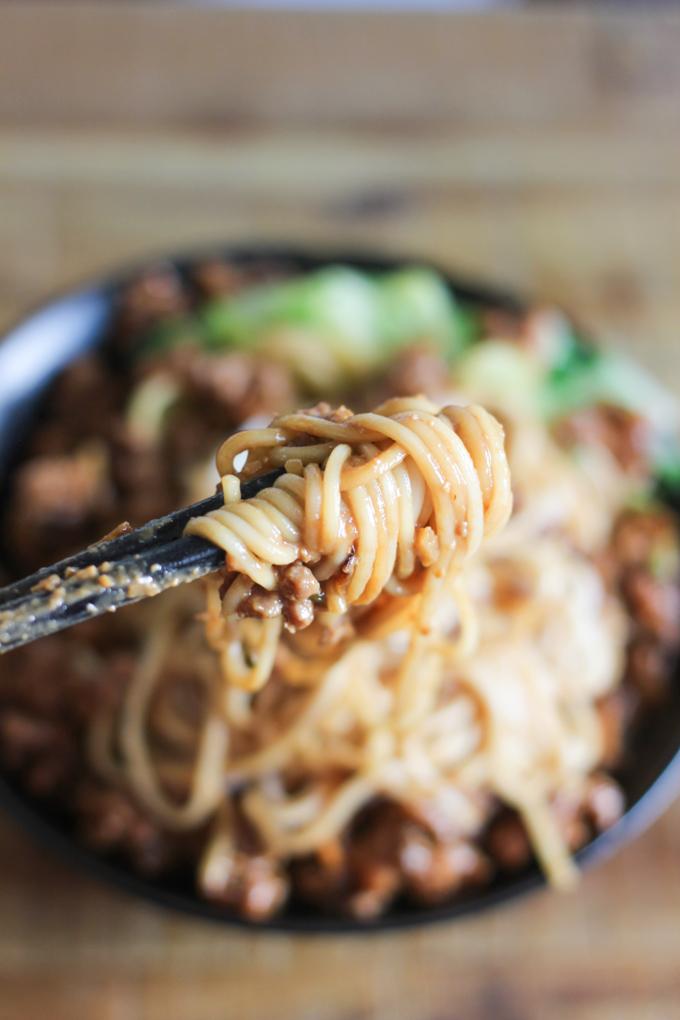 Meat Sauce Noodle