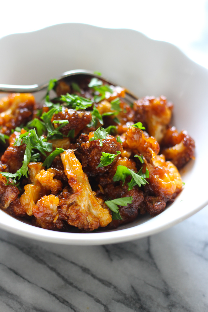 Sweet and Sour Cauliflowers Picture