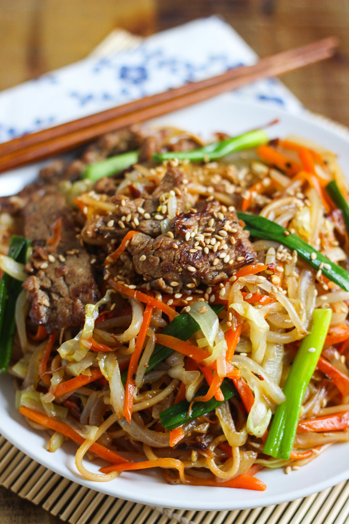 Better than Takeout Beef Lo Mein