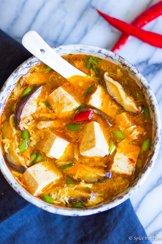 Authentic Chinese Hot and Sour Soup