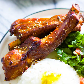 Baked Honey BBQ Baby Back Ribs
