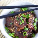 Korean BBQ Short Ribs (Galbi)