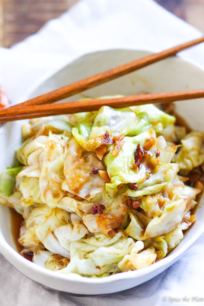 Spicy Szechuan Cabbage Stir Fry Image