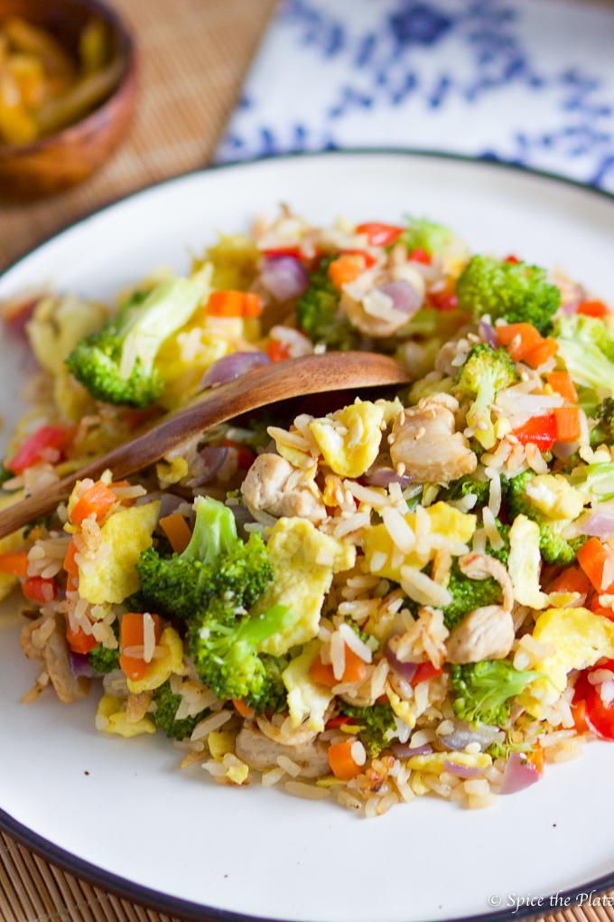 Healthy Pork Fired Rice-7