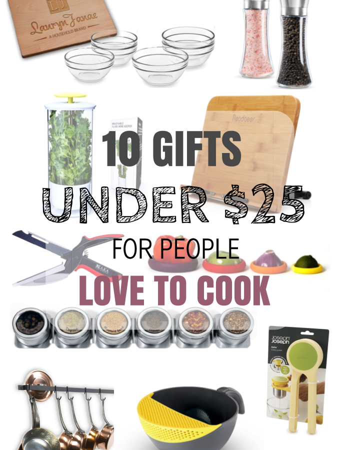 10 Gifts Under $25 for People Who Love to Cook