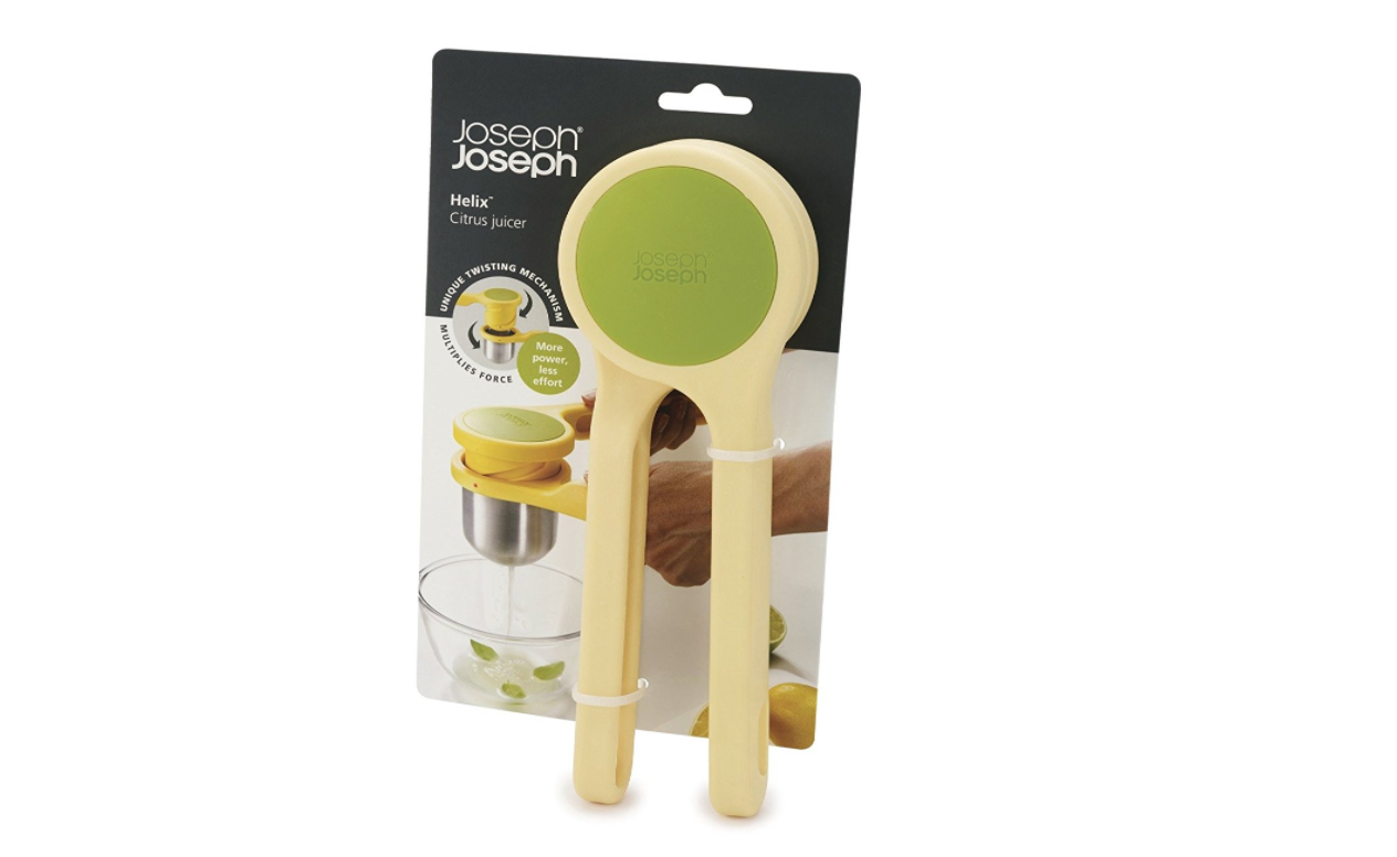 10 Gifts Under $25 for People Who Love to Cook - Joseph Joseph 20101 Helix Citrus Juicer